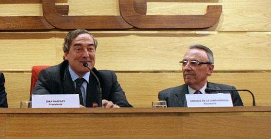 Rosellconfía a Joan Gaspart la presidencia del Consejo de Turismo de CEOE, cargo al que accedió en 2010