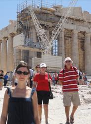 Grecia supera en 2014 por primera vez en su historia la cifra de 20 millones de turistas recibidos, creciendo un 20%