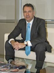 El presidente de Transhotel, Anselmo de la Cruz.