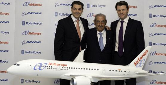 Hidalgo: 'Con el paso que acabamos de dar Air Europa se convertirá en la aerolínea más moderna del mundo'