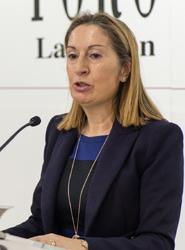 Pastor destaca que en el conjunto de la legislatura se invertirán 14.245 millones de euros en alta velocidad