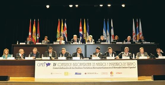 Los empresarios españoles y los responsables públicos de Turismo en los países de Iberoamérica se darán cita mañana en CIMET
