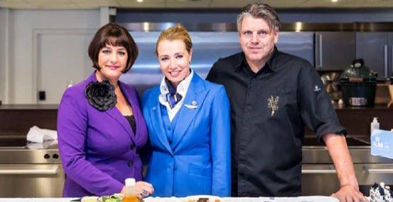 La aerolínea KLM renueva su colaboración con el chef Jonnie Boer para la clase World Business Class
