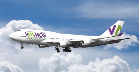 Wamos Air incorpora el quinto avión a su flota y está en proceso de contratar una sexta aeronave para el verano