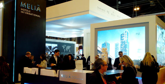 Meliá se presenta en Fitur 2015 'fortalecida y más internacional que nunca', tras firmar más de 100 hoteles