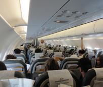 El tráfico aéreo doméstico pone fin a dos años de fuertes caídas y gana un 2% de viajeros durante 2014, según los datos del INE
