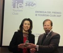 La cadena de establecimientos Paradores de Turismo recibe el premio 360° otorgado por el Club de Turismo del Instituto de Empresa