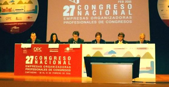 La sesión sobre la oferta de Turismo de Reuniones de la Región de Murcia.