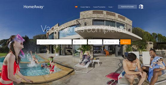 La empresa HomeAway aprovecha su décimo aniversario para presentar su campaña global 'Whole Vacation'