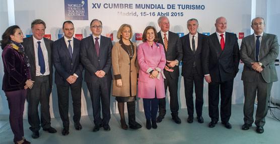 La Cumbre Mundial del Turismo congregará en Madrid del 15 al 16 de abril a más de 1.000 expertos procedentes de 75 países