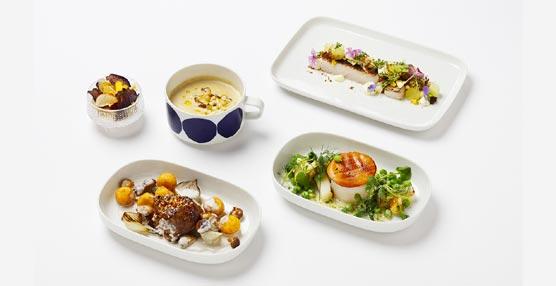Finnair ofrece menús de autor en la clase Business de sus vuelos de largo recorrido durante todo el año 2015