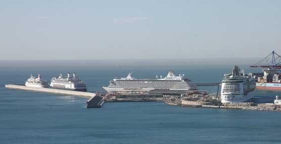 Los puertos españoles superarán los ocho millones de pasajeros de cruceros en 2015, casi un 5% más que en 2014