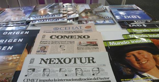 Las publicaciones del Grupo NEXO, presentes en una Exposición Internacional de Turismo en la ITB de Berlín