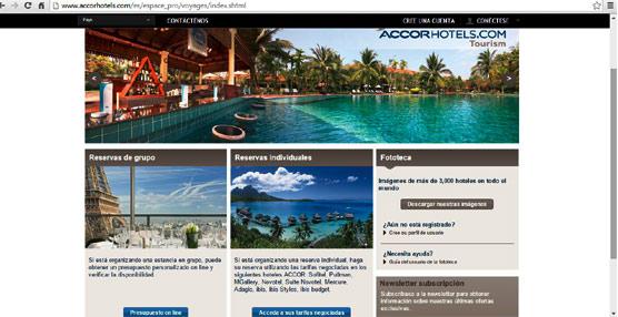 Accor despliega su solución digital de reservas de grupos para profesionales del turismo en más de 150 destinos