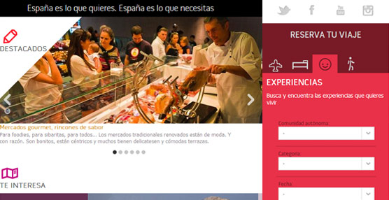 Más de un tercio de las empresas que distribuyen experiencias turísticas en Spain.info son agencias de viajes