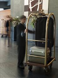El 21,4% de los viajeros se aloja en establecimientos hoteleros.
