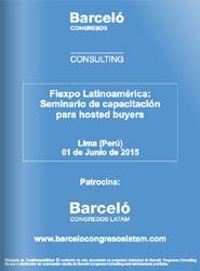 Barceló Congresos Latam se encargará del programa educacional de la edición de 2015 de Fiexpo