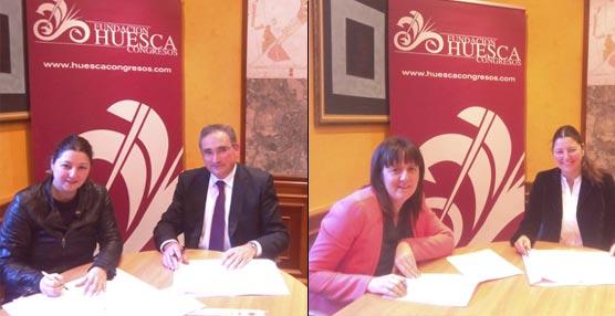 La Fundación Huesca Congresos alcanza los 81 socios con la incorporación de las empresas A faldriquera y Pirineos Casa