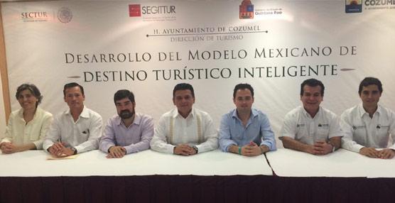 Segittur inicia en Cozumel el plan de expansión del proyecto Destinos Turísticos Inteligentes en México