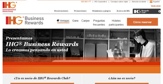 InterContinental Hotels Group desarrolla un programa de fidelización para los organizadores de eventos