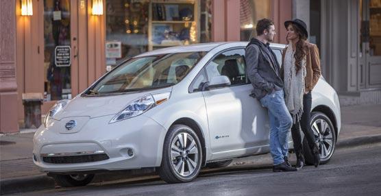 El nuevo modelo Nissan Leaf 100% eléctrico.