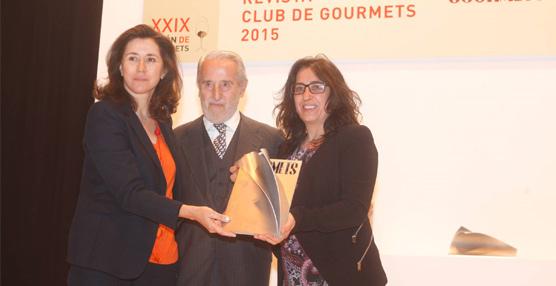 Paradores de Turismo es elegida mejor cadena hotelera en los IV Premios de la Revista Club de Gourmet