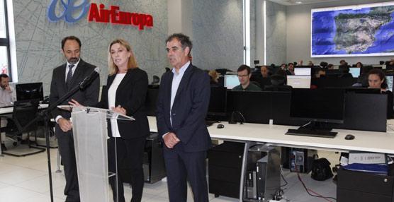 Air Europa inaugura su nuevo Centro de Control de Operaciones, que seguirá los vuelos de sus 46 aviones