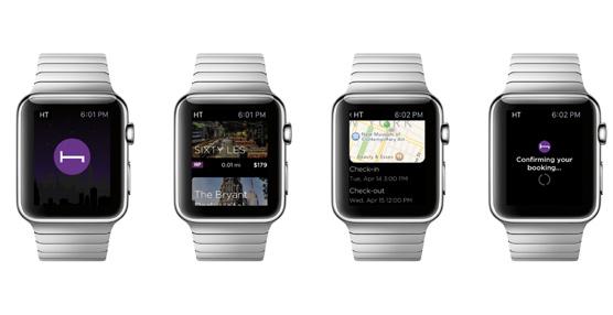 HotelTonight lanza su aplicación para Apple Watch que permite reservar una habitación de hotel en segundos