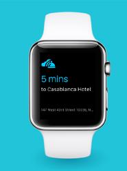 Skyscanner para Apple Watch.