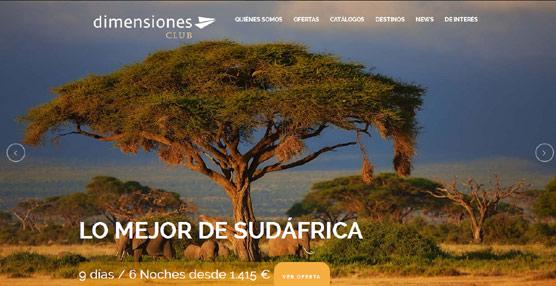 Dimensiones Club intentará abrirse camino en los grandes viajes con 'profesionalidad y atención personalizada'