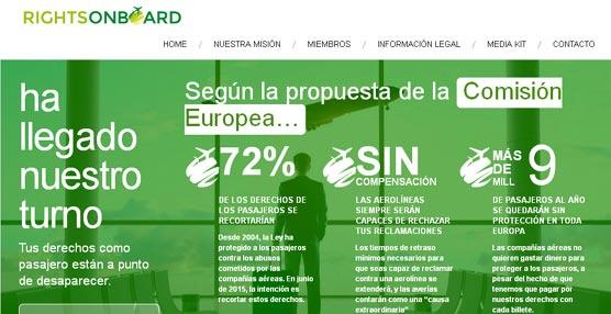 Nace RightsOnBoard, una alianza europea cuyo objetivo principal es proteger los derechos de los pasajeros de avión