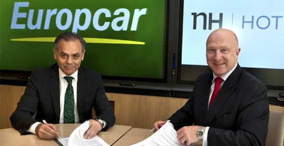 NH Hotel Group y Europcar colaborarán en la prestación de servicios a precios reducidos para sus clientes y empleados