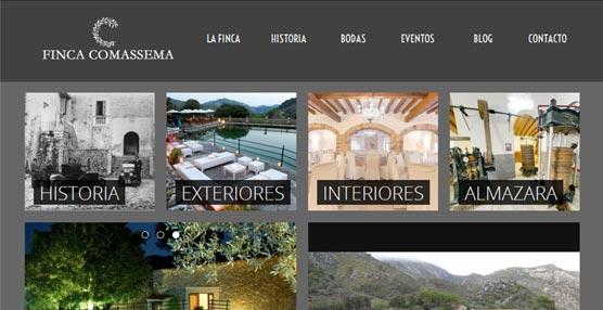 La Finca Comassema, en Mallorca, renueva su página 'web' en la que destaca un tour virtual por sus espacios