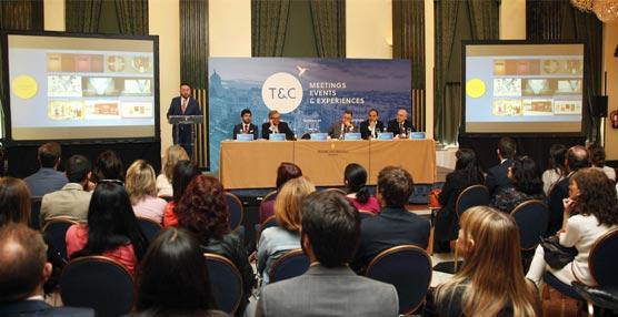 La presentación en Madrid de la filial europea de Turismo & Convenciones.