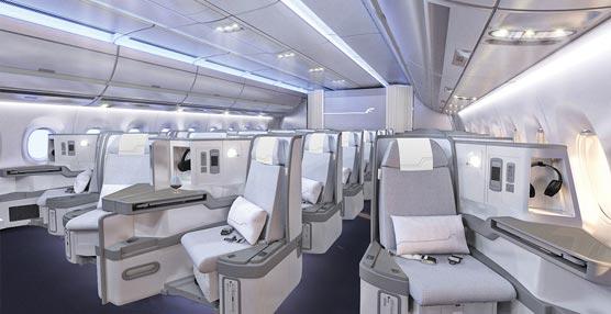 Finnair es premiada por el diseño interior de la cabina de su nuevo Airbus A350 XWB