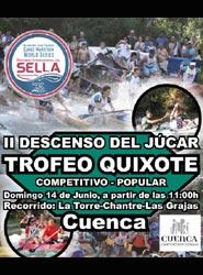 El Cuenca Convention Bureau colabora en la organización del II Descenso del Júcar Trofeo Don Quixote