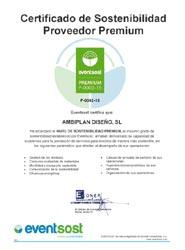 La empresa JMT Ambiplan recibe la máxima certificación de sostenibilidad de Eventsost