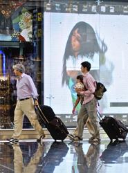 Un 33% de los viajeros de Estados Unidos se decantará por destinos extranjeros, frente al 27% de hace un año