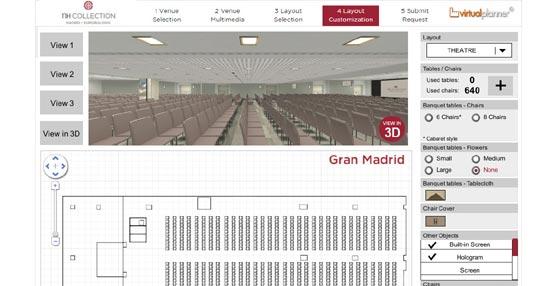 NH Hotel Group presenta una aplicación virtual para la planificación interactiva de eventos en sus hoteles
