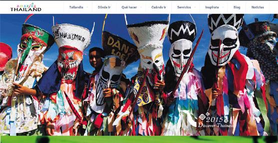 Turismo de Tailandia actualiza su 'portal' con un diseño totalmente renovado y mayor contenido multimedia