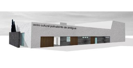 El Cabildo de Fuerteventura invierte 3,6 millones de euros en las obras del Centro Polivalente y Auditorio de Antigua