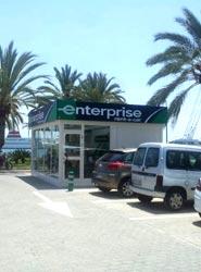 La nueva oficina de Enterprise Rent-A-Car en Palma de Mallorca.