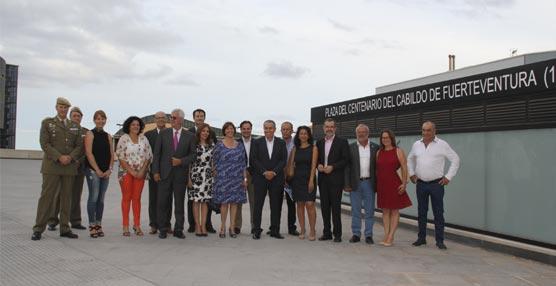 El Palacio de Formación y Congresos de Fuerteventura estrena la 'Plaza del Centenario'