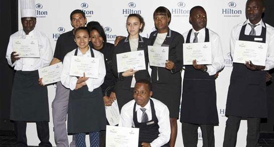 Hilton Madrid Airport y Pinardi recogen fondos para abrir la puerta del  mercado laboral a jóvenes en riesgo de exclusión