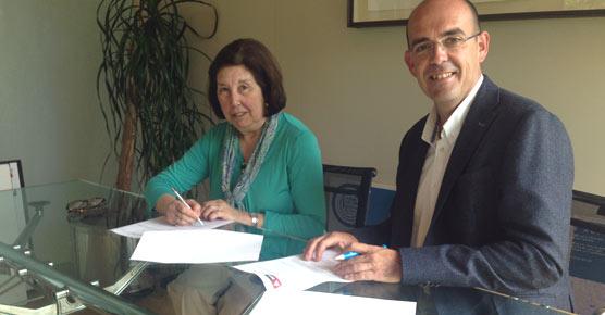 Los empresarios de campings de Cantabria firman un convenio con la  Asociación Amica para integrar a personas con discapacidad
