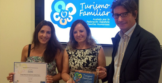 La empresa Pierre Vacances recibe el Sello de Turismo Familiar para 23 de sus complejos de vacaciones en España