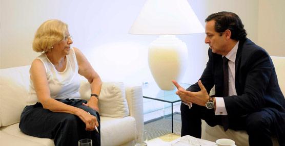 El presidente de CEIM se ha reunido con la nueva alcaldesa de la ciudad de Madrid.