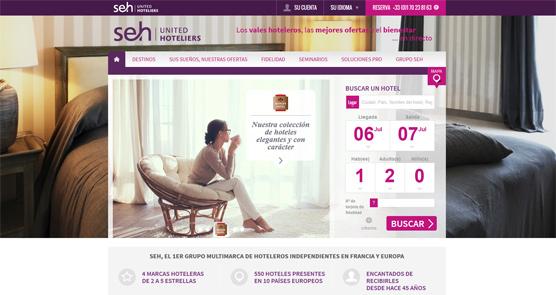 La cooperativa francesa de hoteles independientes SEH abre su portal de reservas a terceros en España
