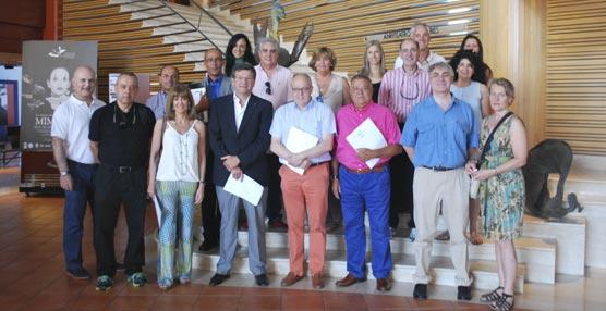 Los participantes en el viaje de familiarización en Las Palmas de Gran Canaria.