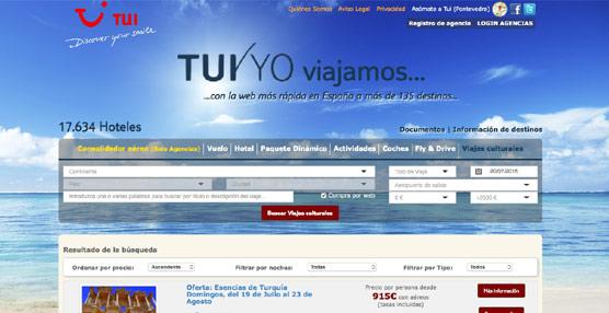 TUI Spain dispone de más de 600 circuitos, a los que se irán incorporando toda la programación.